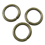 Iron Closed Jump Ring, 8x1.2mm, Hole:Approx 5.5mm, 6665PCs/KG, Sold by KG