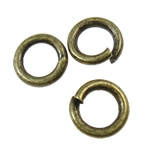 Iron Closed Jump Ring, 5x1mm, Hole:Approx 3.4mm, 17510PCs/KG, Sold by KG
