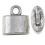 Końcówka ze stopu cynku, Stop cynku, Platerowane kolorem starego srebra, różnej wielkości do wyboru, bez zawartości niklu, ołowiu i kadmu, sprzedane przez KG
