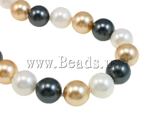 Buy South Sea Shell Necklace Round 10mm Sold Per 32 Inch Strand