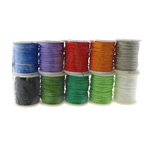 Nylon Cord with plastic spool mixed colors 0.80mm Length:100 m 10PCs/Lot