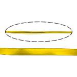 Drut aluminiowy, Aluminium, Platerowane w kolorze złota, 3.50x0.88mm, 10m/wiele, sprzedane przez wiele