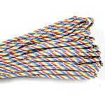 Paracord 330 Paracord multi-colored 4mm 5Strands/Lot 31m/Strand