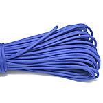 Paracord, 330 Paracord, blue, 4mm, 5Strands/Lot, 31m/Strand, Sold By Lot