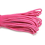 Paracord, 330 Paracord, lotus red, 4mm, 5Strands/Lot, 31m/Strand, Sold By Lot
