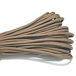 Paracord, 330 Paracord, khaki, 4mm, 5Strands/Lot, 31m/Strand, Sold By Lot