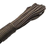 Paracord, 330 Paracord, gun grey, 4mm, 5Strands/Lot, 31m/Strand, Sold By Lot