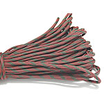 Paracord, 330 Paracord, red camouflage, 4mm, 5Strands/Lot, 31m/Strand, Sold By Lot