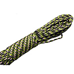 Paracord 330 Paracord fluorescent green 4mm 5Strands/Lot 31m/Strand