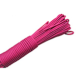 Paracord 330 Paracord bright rosy red 4mm 5Strands/Lot 31m/Strand