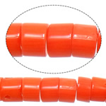 Natural Coral Beads Rondelle reddish orange 6.5-7x3-4x3-4mm Hole:Approx 1.2mm Length:16 Inch 10Strands/Lot