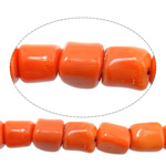 Natural Coral Beads Nuggets deep orange 10-13x10-13mm Hole:Approx 1.5mm Length:Approx 16.5 Inch 10Strands/Lot Approx 36PCs/Strand