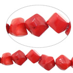 Natural Coral Beads Nuggets red 11-16x11-16mm Hole:Approx 1.5mm Length:Approx 16.5 Inch 10Strands/Lot Approx 29PCs/Strand