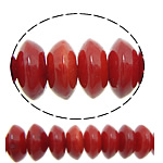 Natural Coral Beads Rondelle red 4x2mm Hole:Approx 0.8mm Length:Approx 15.5 Inch 10Strands/Lot Approx 150PCs/Strand
