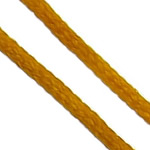 Nylon Cord, yellow, 1mm, 300Yards/Bag, Sold By Bag