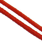 Nylon Cord, red, 1mm, 300Yards/Bag, Sold By Bag