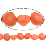 Natural Coral Beads, 9x6mm, Hole:Approx 0.5mm, Length:16 Inch, 10Strands/Lot, Sold by Lot
