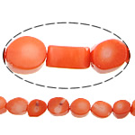 Natural Coral Beads, 10x12x8mm, Hole:Approx 1mm, Length:17 Inch, 10Strands/Lot, Sold by Lot