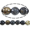 Natural Fire Crackle Agate Beads, Round, faceted, 8mm, Hole:Approx 1.5mm ,Length:50 Inch, 10Strands/Lot, Sold By Lot