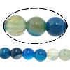 Agate Beads, Round, 4mm, Hole:Approx 1mm ,Length:15 Inch, 20Strands/Lot, Sold By Lot
