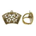 Zinc Alloy Scarf Slide Bail, antique gold color plated, lead & cadmium free, 44x29x21mm, Hole:Approx 2-18mm, 10PCs/Bag, Sold By Bag