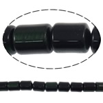 Natural Tiger Eye Beads, Tube, 8x10mm, Hole:Approx 1mm, Length:16 Inch, 5Strands/Lot, Sold By Lot