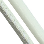 Leather Cord PU white 5mm 100m/Lot