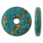 Turquoise Beads, 23x5mm, Hole:Approx 4mm, 20PCs/Bag, Sold by Bag