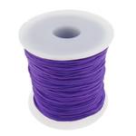 Przewód nylonowy, Sznur nylonowy, fioletowy, 1mm, długość:około 100 stoczni, sprzedane przez PC