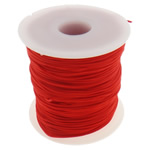 Nylon Cord, more colors for choice, 1mm, Length:Approx 100 Yard, Sold By PC