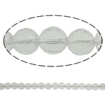 Natural Clear Quartz Beads, Round, different size for choice & faceted, Hole:Approx 1.5mm, Length:Approx 15.7 Inch, 20Strands/Lot, Sold By Lot