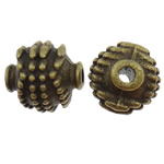 Zinc Alloy Jewelry Beads, Lantern, antique bronze color plated, nickel, lead & cadmium free, 8.5x9.5mm, Hole:Approx 2mm, 200PCs/Bag, Sold by Bag
