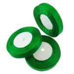 Organza Ribbon, green, 1.7cm, Length:Approx 2500 Yard, 50PCs/Lot, Sold By Lot