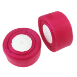 Organza Ribbon, lotus red, 51mm, Length:approx 1000 Yard, 20PCs/Lot, Sold by Lot