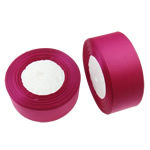 Grosgrain Ribbon, fuchsia, 39mm, Length:approx 625 Yard, 25PCs/Lot, Sold by Lot