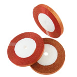 Sparkle Ribbon, reddish orange, 10mm, Length:approx 1250 Yard, 50PCs/Lot, Sold by Lot