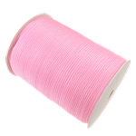 Organza Ribbon, pink, 10mm, Length:approx 2500 Yard, 5PCs/Lot, Sold by Lot