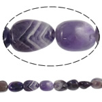 Natural Amethyst Beads, Nuggets, February Birthstone, 13-18mm, Hole:Approx 2mm, Length:15.7 Inch, 5Strands/Lot, Sold By Lot