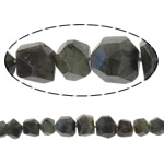 Natural Labradorite Beads, Nuggets, faceted, 9-21mm, Hole:Approx 1mm, Length:16 Inch, 10Strands/Lot, Sold By Lot