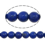 Natural Lapis Lazuli Beads, Round, blue, 3mm, Hole:Approx 0.8mm, Length:Approx 16 Inch, 2Strands/Lot, Approx 134PCs/Strand, Sold By Lot