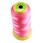 Nylon Thread, without elastic, bright rosy red, 0.50mm, Length:480 m, 10PCs/Lot, Sold By Lot