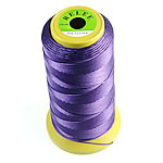 Nylon Thread, without elastic, dark purple, 0.50mm, Length:480 m, 10PCs/Lot, Sold By Lot