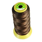 Nylon Thread, without elastic, coffee color, 0.50mm, Length:480 m, 10PCs/Lot, Sold By Lot