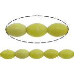 Natural Jade Beads Jade New Mountain Oval 12x8mm Hole:Approx 1mm Approx 33PCs/Strand Sold Per Approx 15.5 Inch Strand