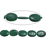 Natural Malachite Beads, Flat Oval, 30x22x7mm, Hole:Approx 1.2mm, Approx 13PCs/Strand, Sold Per Approx 15.5 Inch Strand