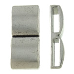 Zinc Alloy Spacer Bar, Rectangle, antique silver color plated, 2-strand, nickel, lead & cadmium free, 10.50x25x5.50mm, Hole:Approx 2.5x10mm, Approx 200PCs/KG, Sold By KG