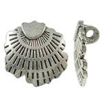 Zinc Alloy Pendants, antique silver color plated, lead & cadmium free, 21x20.50x7.50mm, Hole:Approx 2.8mm, Approx 285PCs/KG, Sold By KG
