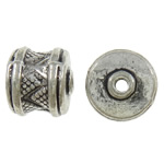 Zinc Alloy Jewelry Beads, antique silver color plated, lead & cadmium free, 10x9x9mm, Hole:Approx 1.7mm, Approx 380PCs/KG, Sold By KG