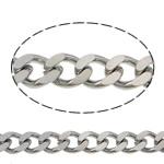 Łańcucha krawężnika ze stali nierdzewnej, Stal nierdzewna, łańcucha krawężnika, oryginalny kolor, 6x4.50x1.20mm, długość:100 m, sprzedane przez wiele