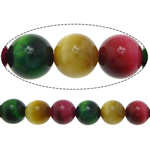 Natural Tiger Eye Beads, Round, mixed colors, 10mm, Hole:Approx 1mm, Length:Approx 15 Inch, 5Strands/Lot, Approx 37PCs/Strand, Sold By Lot